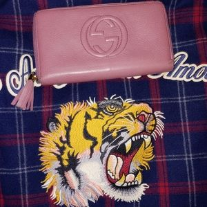 Gucci Soho disco leather wallet